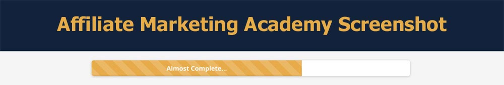 Affiliate Marketing Academy review screenshot