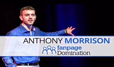 Anthony Morrison Fanpage domination review logo