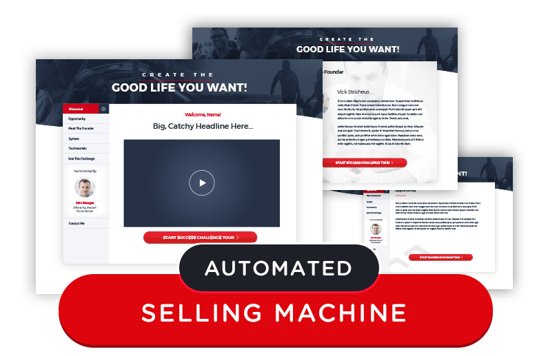 Four Percent Success Challenge for Affiliate Marketers Automated Selling Machine