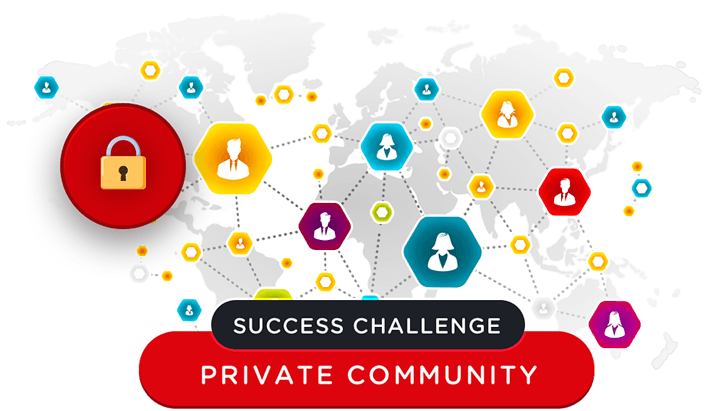 Four Percent Success Challenge for Affiliate Marketers  Private Community