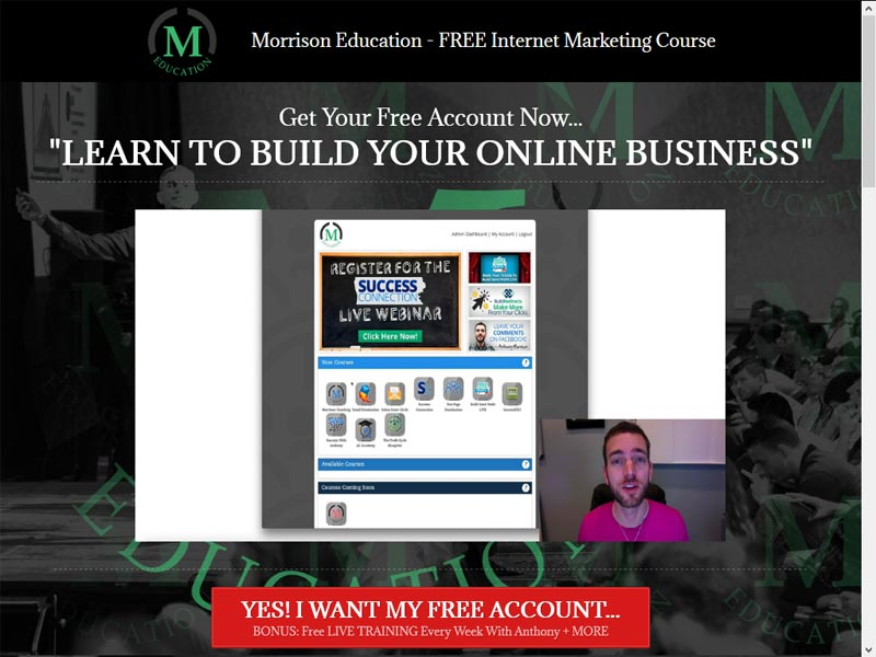 Morrison Ambassador Affiliate Program Review
