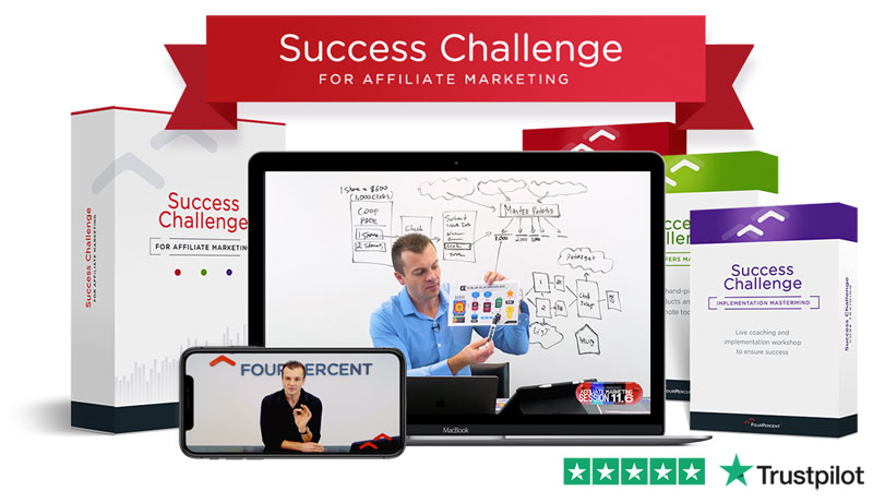 FourPercent Success Challenge for Affiliate Marketing Review